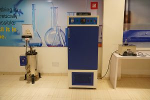 Autoclave and BOD Incubator