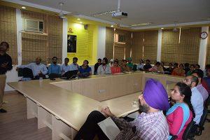 Invited talk by Dr. Gaurav Gupta, MeitY on 29 Sept