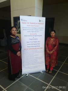Attended Workshop by Dr. ARchana Mam at Thapar University Patiala