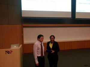 Dr. Archana Mam's visit to Singapore