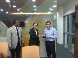 Dr. Archana Mam's visit to Singapore