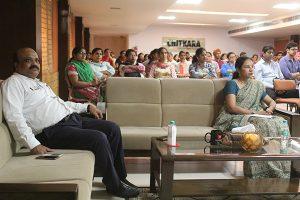 Visit of Mr. Pawan Kumar on 5 Aug. 2017