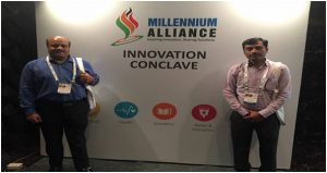 Portable intensive Care Unit Innovation at Millennium Alliance Innovation Conclave, New Delhi