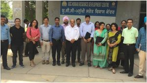 Invited lecture by Dr S N Panda in UGC Human Resource Development Centre, Punjabi University Patiala