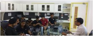 "Dr Naveen Kumar successfully conducted 1st day of ""Basics of Raspberry pi and Web Interfaces Development"""