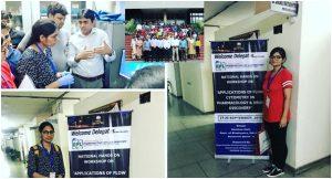 Raj Rani and Neha represented Chitkara University at three-day National Hands-on Workshop