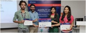 Pupa Lab memebrs win in AAKURTI-2019, the North Zonal Level Semi Finals held at New Delhi on September 13, 2019