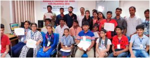 Dr Virender Kadyan invited for event evaluation at National IT Challenge for Youth with disabilities at NIT kurukshetra organized under department of empowerment GOI on 26 July 2019