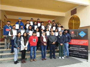 Research Induced Training-V conducted by Dr Virender Kadyan,  Dec 18-29,2018