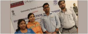 CURIN Faculties attended SPARC (a UGC-MHRD scheme for Research Projects Funding)
