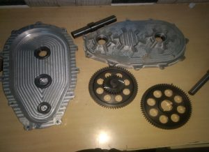 Products Manufactured with these machines used by SAE-BAJA Team