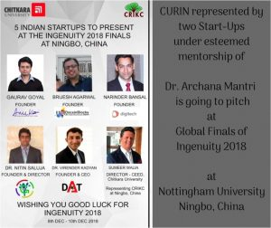 Pitch by CURIN researchers