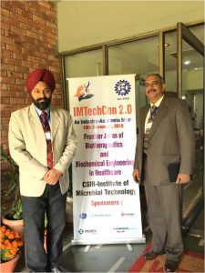 Mr Vinay Mehta  attended the industry academia meet at MTech  on Dec 10,  2018.