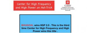 HFHP Lab CURIN wins IIGP University Challenge 2019