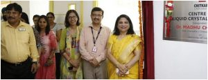 Dr Madhu Chitkara, Vice Chancellor, inaugurated Centre for Liquid Crystal Research