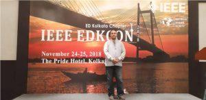 Dr. Rajnish Sharma attended EDKCON held at Kolkata on 24th - 25th November, 2018.