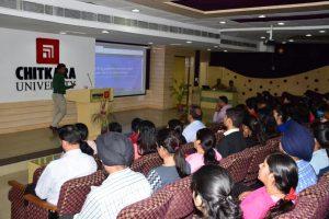 Dr Rajnish Sharma organized session on Typeset tool  by Mr Saikiran Chadra, CEO,Typeset.
