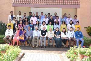 Dr. Varsha at  Young Scientist Forum (YSF) Alumni meeting at National Institute of Advanced Studies (NIAS), IISc Bangalore.