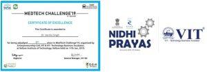 Dr Varsha has been awarded from NIDHI-PRAYAS program