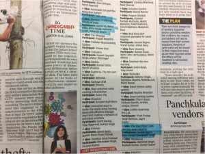 Dr Nitin Saluja and his team at CURIN got shortlisted inTimes of India Innovation Challenge.