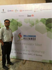 Mr. Debarshi Ghosh was selected as top 20 finalists in Academia Industry Training (AIT) Program