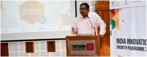 IIGP2.0 Road Show. Mr. Nikhil Chachra, Joint Director, FICCI at Chitkara University Punjab