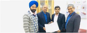 Chitkara University signed MOU with Kalam Institute of Health Technology.