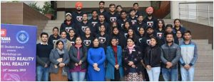 "3 days hands-on workshop on ""Augmented and Virtual Reality"" was delivered by the AR/VR Team at Chitkara University Punjab."
