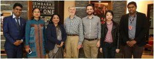 MIT delegates visited Chitkara University