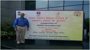 Mr. Vinay Mehta invited to Inauguration of Innovation Cell