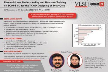 Workshop on SCAPS - 1D